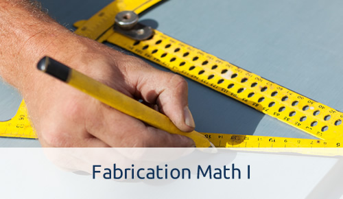 Fabrication Math I