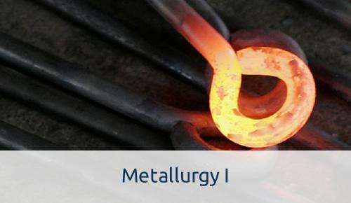 Metallurgy I